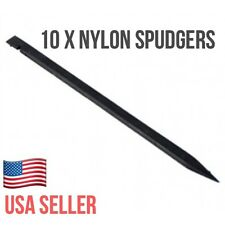10X Nylon Plastic Spudger Black Stick Opening Repair Tools iPhone iPad Laptops
