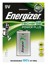 Energizer High Capacity NiMH Rechargeable Batteries