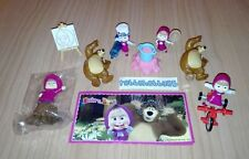 SERIE MASHA AND THE BEAR (MAXI) SEB29 - SEB32 + 4 BPZ KINDER ITALIA 2018 FERRERO