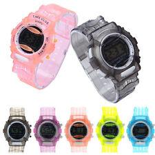 Silicone Waterproof Watch Boys Girls Children Students Digital Wrist Sport Watch
