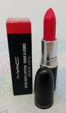MAC RETRO MATTE LIPSTICK in 706 RELENTLESSLY RED Full Size 3 g New in Box