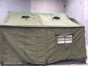 Army Canvas Tent Extension 14x14ft New