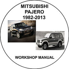 Mitsubishi Pajero 1982-2013 Workshop Service Repair Manual