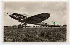 AK Heinkel He 70 Blitz D - U 60 R Lufthansa Flugzeug aircraft gel. 1937 Jüterbog