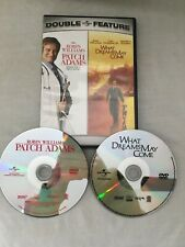 Patch Adams/What Dreams May Come Double Feature (Dvd, 2007,2-Disc)*Free Shipping
