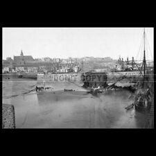 Photo L.000509 PORT DE GRANVILLE 1870 AVANT-PORT ÉCLUSE