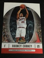 2006-07 Finest RODNEY CARNEY RC #63 basketball card ~ Memphis / 76ERS rookie F1