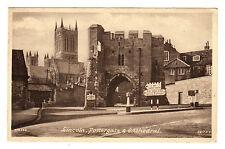 Pottergate - Lincoln Photo Postcard c1930s