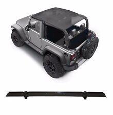 Smittybilt Extended Mesh Top & Header Channel Set 2007-2009 2dr Jeep Wrangler JK