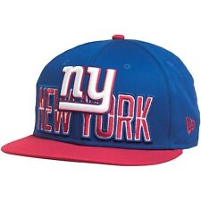 New Era NFL 9Fifty Draft Logo New York Giants Snap Back Blue - New w/tags
