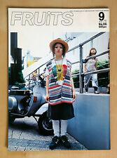FRUiTS MAGAZINE Japan 2004 No.86 Free Style Harajuku Fashion