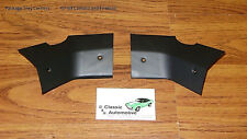 Camaro Firebird 67 68 69 Package Tray Corner Trim rear window plates for hardtop