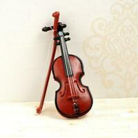 112 Dolls House Miniature Music Instrument Violin Model UK Room Instrument T7K6