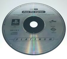 CHASE THE EXPRESS - PlayStation 1 PS1 Play Station Game Bambini Gioco