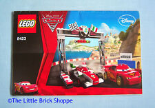 Lego Disney Cars 8423 World Grand Prix Racing Rivalry - INSTRUCTION BOOK ONLY