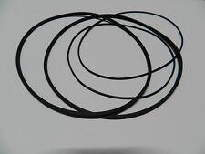 Vierkant Riemen Set passend für Philips N4505  Rubber drive belt kit