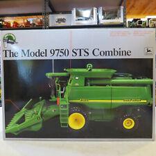 Ertl John Deere 9750 STS Combine 2 Heads Precision Classic 1/32  JD-15036A-B