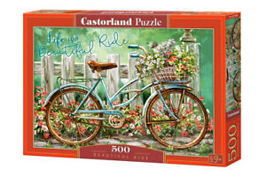 "Castorland Puzzle 500 Pieces - BEAUTIFUL RIDE - 18.5"" x13"" Sealed box B-52998"