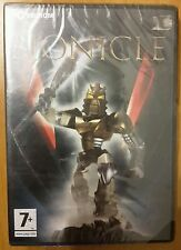 Gioco Pc Cd Rom Bionicle Lego Windows Computer Game Xp 2000 Me 98 Eroico Toa New
