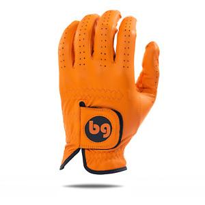 Orange Elite Tour Golf Glove