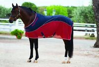 Horseware Rambo SPORT COOLER Wicking Stable/Travel Sheet Sweat Rug Navy 5'6-7'3