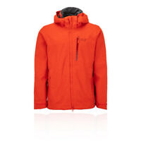 Jack Wolfskin Mens Keplar Trail Jacket Top Orange Sports Outdoors Full Zip
