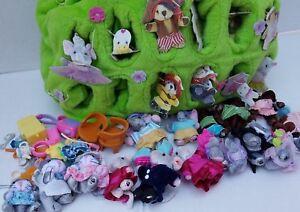 FurryVille LOT Family Elefontaines Catfields Micebergs Bear Rhino Bag FV Mattel