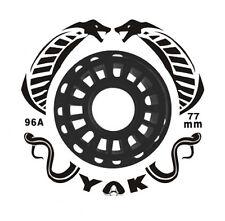 77mm x 96a YAK Cobrastick wheel for Ripstick, two wheels w/bearings