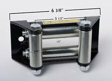 "Atv Utv OffRoad Winch Roller Fairlead 4 Way Cable Lead Guide 4-7/8"" Bolt Pattern"