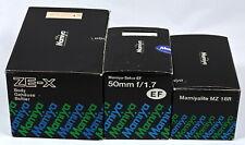 Mamiya ZE-X 35mm Film SLR c/w Mamiya-Sekor EF 50mm f/1.7 Lens MZ-18R Flash Kit
