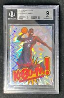 2013 Panini Innovation Kaboom! LeBron James #18 BGS 9 Mint (Low Pop)