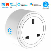 Switch WiFi Power Timer Mini Plug Smart Socket Outlet for Google Home Alexa Echo