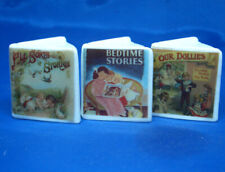 Birchcroft Thimbles -- Miniature Book Style  -- Set of Three Bedtime Stories