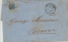 REGNO-GRIGLIA DI CIVITAVECCHIA-20c(26) Lettera x Roma 5.3.1871
