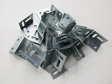 40 Galvanised Angle brackets steel stretcher shrinkage plate 25mm x 30mm x38mm