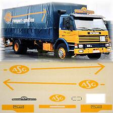 Scania ASG De suède (S)) 1:87 camion autocollant décalcomanie