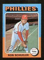 Ron Schueler #292 signed autograph auto 1975 Topps Baseball Trading Card