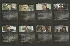 Twilight Fab Card Collection Peter Facinelli Billy Burke Edi Mue Gathegi