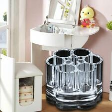Acrylic Clear Cosmetics Makeup Tools Brush Container Storage Organizer Case Box