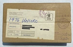 5 1976 U.S. UNCIRCULATED MINT SETS SEALED UNOPENED MINT SHIPPING BOX UNSEARCHED