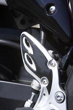 Suzuki Genuine Sport Hayabusa 2013-16 Heel Plate Set Carbon Look 990D0-15H01-PAD