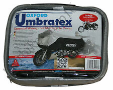 Oxford Umbratex Cover Waterproof Outdoor Motorcycle Cover size L Large CV107