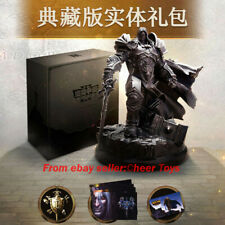 Warcraft III Reforged Collector' Edition ARTHAS Statue Entity Gift Box Blizzard