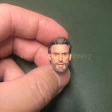 "Painted Service 1/12 Captain America Chris Evans head Sculpt 6"" shf ml One:12"
