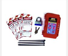 Lockout Tagout Kit Electrical Safety Equipment Tools, Universal