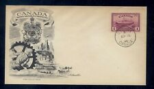 Canada 273 high value cachet first day cover