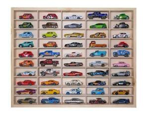 For Hot Wheels Diecast Car Matchbox 1/64 Display Unit Shelf Toy Storage 50 Cars