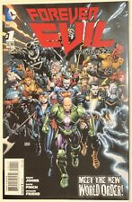 Forever Evil #1 Finch Cover Dc Comics New 52 High Grade