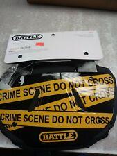 Battle Sports Science Crime Scene Adult Chrome Football Back Plate