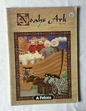 Patons NOAHS ARK. Book 1204. Children's toys knitting instruction book